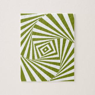 illusion verte puzzle