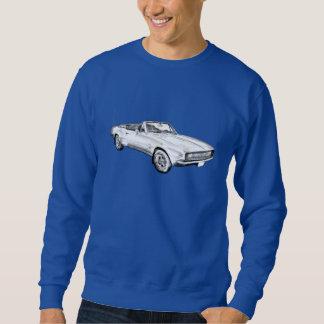 Illustration 1967 de voiture de muscle de Camaro Sweatshirt