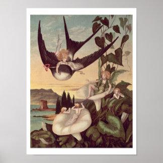 """Illustration à """"Thumbkinetta"""", par le chrétien de  Posters"""