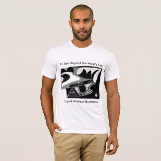 Illustration abstraite 6x40 divin de Digitals T-shirt