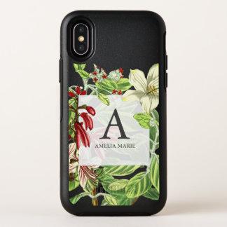 Illustration botanique florale de verdure de