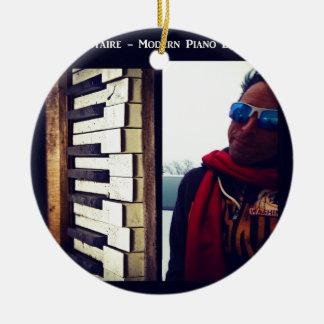 Illustration CD de couverture d'excursions de Ornement Rond En Céramique