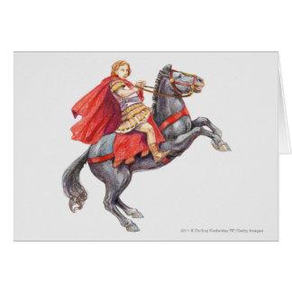Illustration d'Alexandre le grand Carte De Vœux