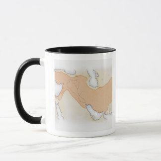 Illustration d'Alexandre le grand empire Mug