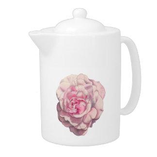 Illustration d'aquarelle de rose de rose