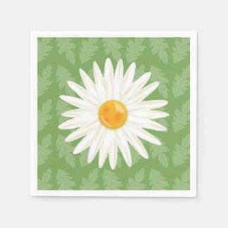 Illustration de bande dessinée de fleur de serviettes en papier