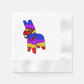 Illustration de bande dessinée de Piñata Serviette Jetable