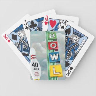 Illustration de bowling jeu de cartes