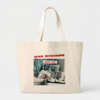 illustration de Cd de ville de Séoul Grand Tote Bag