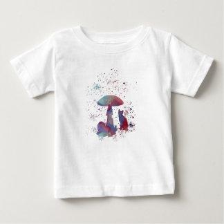 Illustration de chat t-shirt pour bébé
