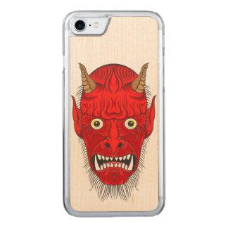 Illustration de démon coque carved iPhone 8/7