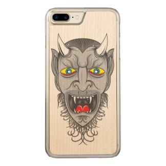 Illustration de diable coque carved iPhone 8 plus/7 plus