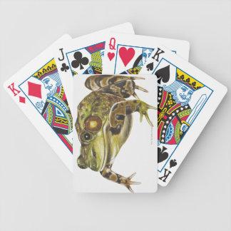 Illustration de Digitals de grenouille verte Jeu De Poker