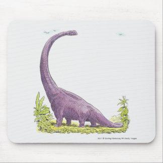 Illustration de dinosaure de Giraffatitan Tapis De Souris