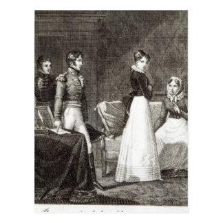 "illustration de ""La Famille Elliot Carte Postale"