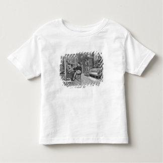 """Illustration de """"Le Monde Illustre T-shirts"""