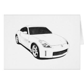 Illustration de Nissan 350Z Cartes