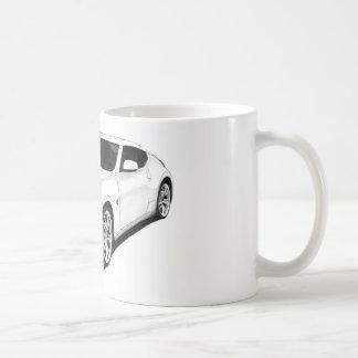 Illustration de Nissan 370Z Mug