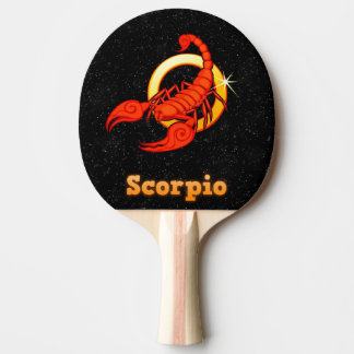 Illustration de Scorpion Raquette Tennis De Table