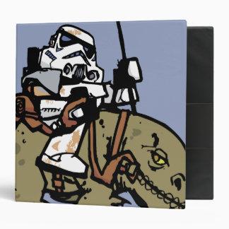 Illustration de soldats de la cavalerie de tempête classeur 5,08 cm