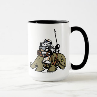 Illustration de soldats de la cavalerie de tempête mug