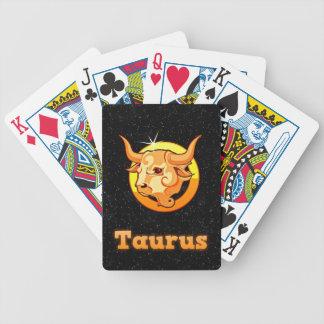 Illustration de Taureau Jeux De Cartes