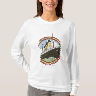 Illustration de Titanic T-shirt