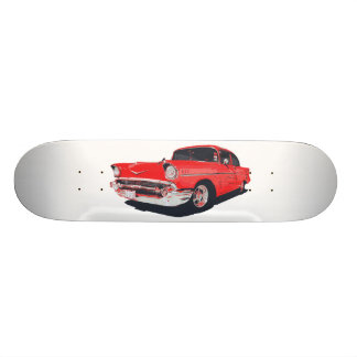 Illustration de vecteur de Bel Air de Chevy Skateboard Old School 18,1 Cm