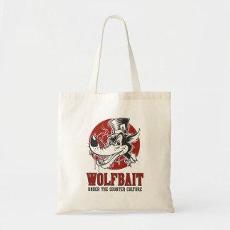 Illustration de wolfbait de rockabilly/Psychobilly Tote Bag