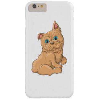 Illustration d'un bouledogue français de chien coque iPhone 6 plus barely there