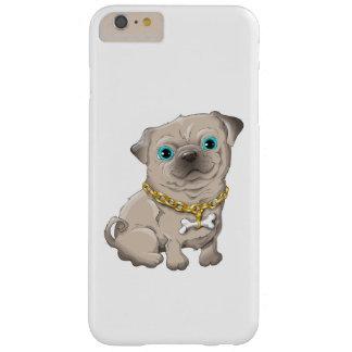 Illustration d'un carlin mignon de chien coque barely there iPhone 6 plus