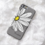 Illustration florale de marguerite à la mode - coque iPhone 6 barely there