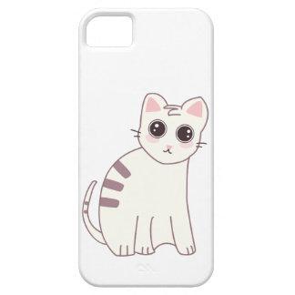 Illustration mignonne de chat de Kawaii Coque iPhone 5 Case-Mate