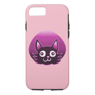 illustration pourpre de vecteur de style de bande coque iPhone 8/7