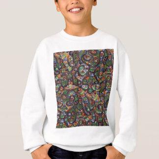 Illustration rêveuse profonde abstraite sweatshirt