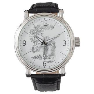 Illustration rurale antique montres