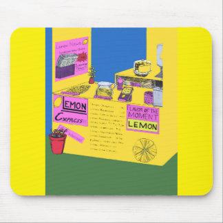 Illustration vibrante et élaborée de stand de tapis de souris
