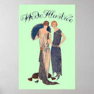 Illustrée de mode de La (français 1922 de magazine Posters