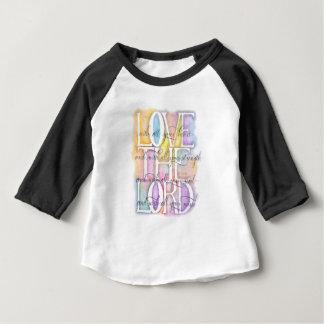 ILOVE le 10h27 de SEIGNEUR Luc T-shirt Pour Bébé
