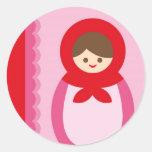 ILoveMat1 Sticker Rond