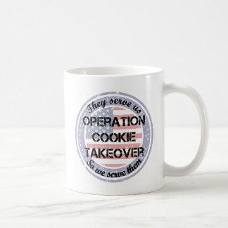 Ils nous servent la tasse de café