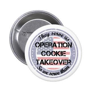 Ils nous servent le militaire de carrière de badges