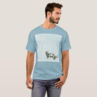 Ils tirent à moi le T-shirt rare d'aquarelle