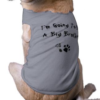 Im allant être un frère - t-shirt pour chien