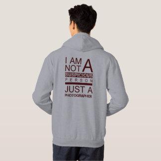 Im pas un sweat - shirt à capuche de rouge de