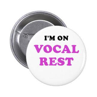 Im sur le repos vocal pin's
