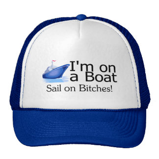 Im sur un bateau casquettes