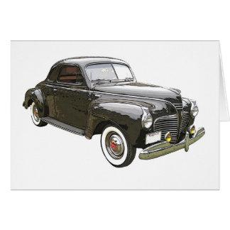 Image augmentée par Digital de Plymouth 1941 noir Cartes De Vœux