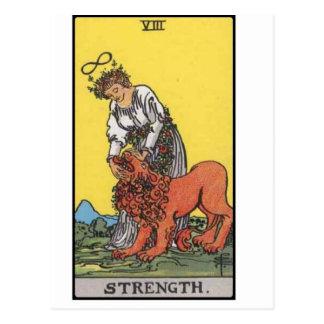 image de carte de force de tarot