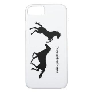 Image de cheval pour l'iPhone 6, à peine là Coque iPhone 8/7